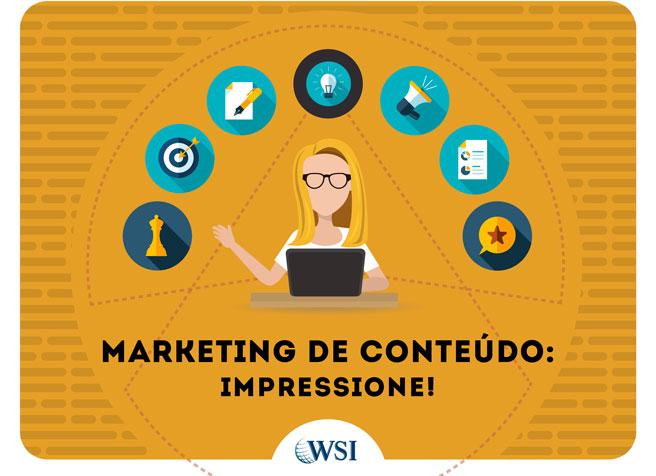 [e-Book] - Marketing de Conteúdo: Impressione | WSI Marketing Digital